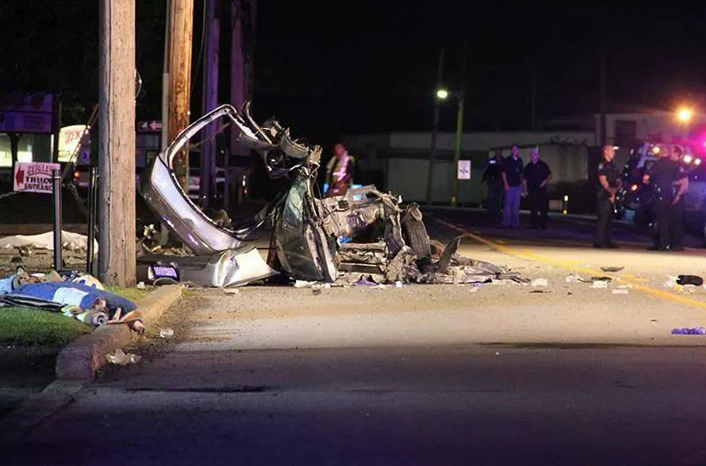 Description of . Fatal crash, North Broad Street in Hatfield Township.   Monday, August 25, 2014.   Photo submitted by Dave McCreash